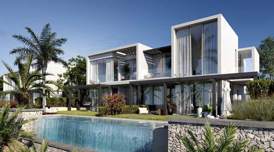Two storey twin villa in Baymount