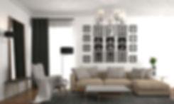 Interior design in ECO October apartments