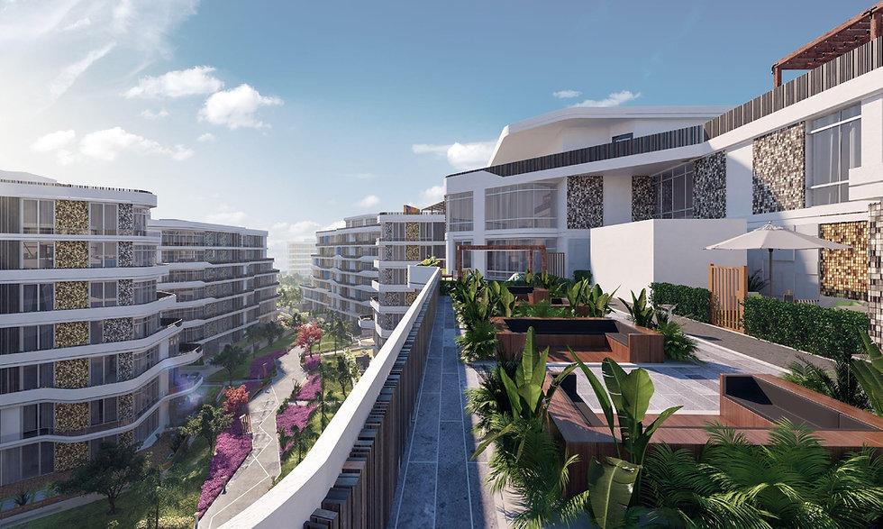 Rooftop amenities in Bloomfields