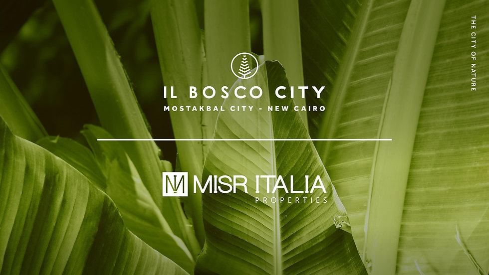 IL Bosco City by Misr Italia Properties