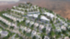 The House Hotel & Residence in IL Monte Galala bird's eye view
