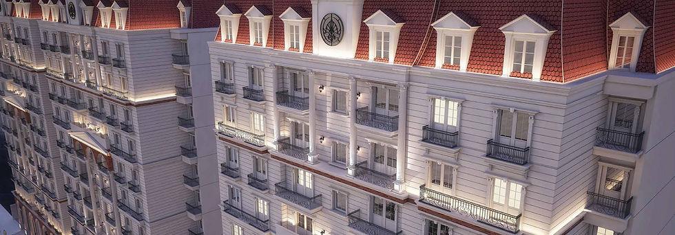 facade of buildings in Sawary New Alexandria