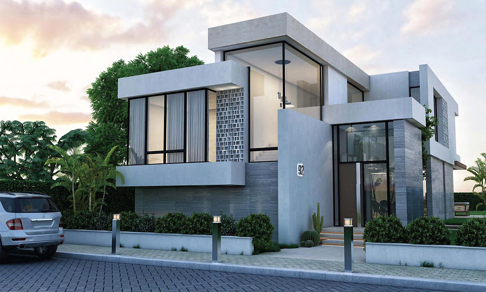 Standalone Villa design in Zoya North Coast