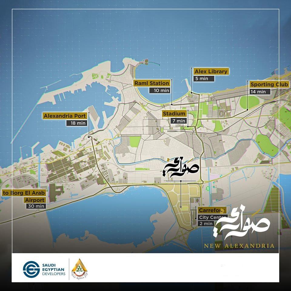 Location Sawary New Alexandria SED