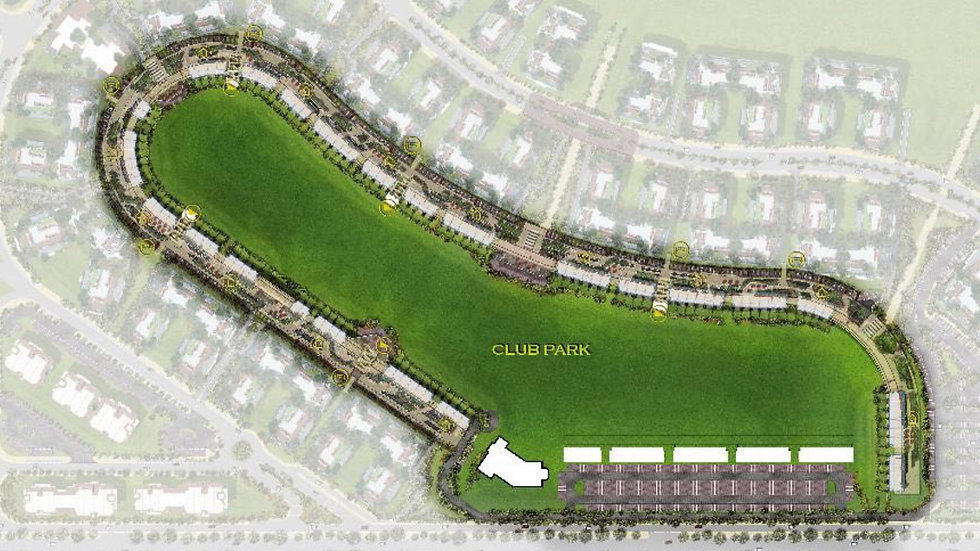 Master Plan for Club Park in iCity New Cairo