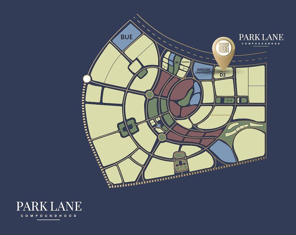 Park Lane New Capital Location