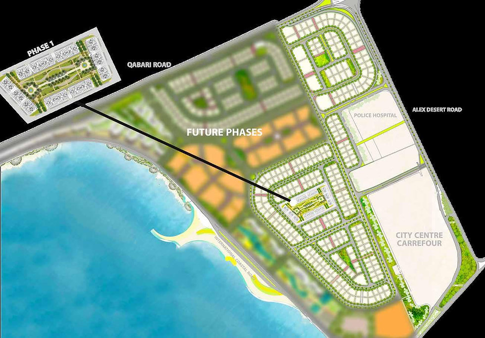 Master Plan Sawary Alexandria by Saudi Egyptian Developers (SED)
