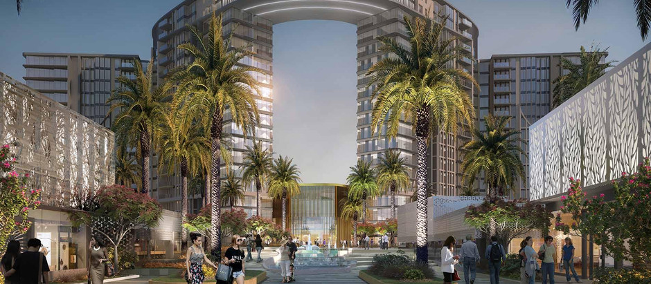 ZED Towers in El Sheikh Zayed