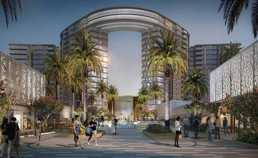 Park Towers in ZED Sheikh Zayed