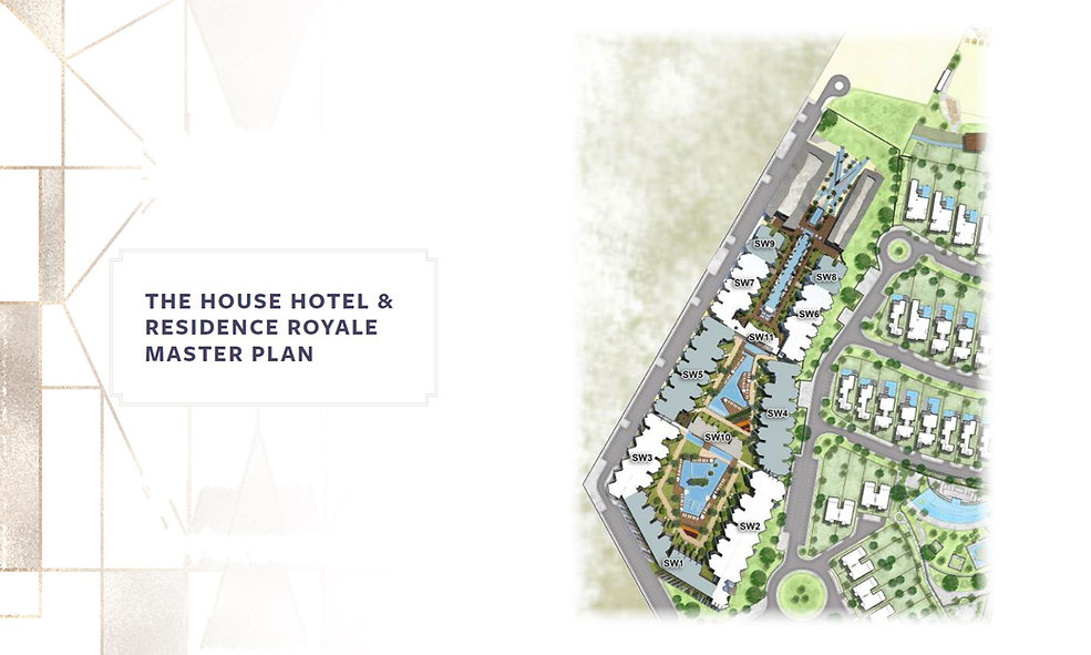 Master Plan for The House Hotel & Residence Royale at Fouka Bay