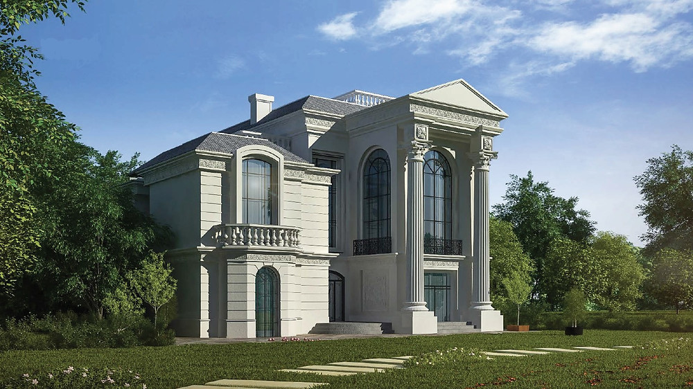 Classic standalone villa in Zahya New Mansoura