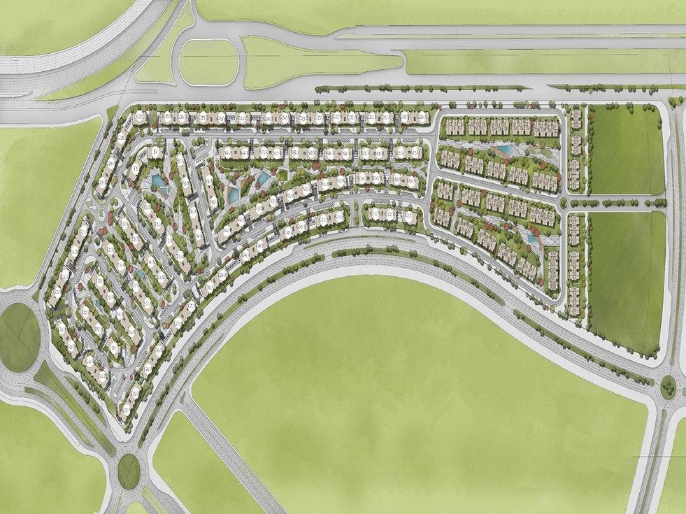 Master plan for Aria Landmark Sabbour