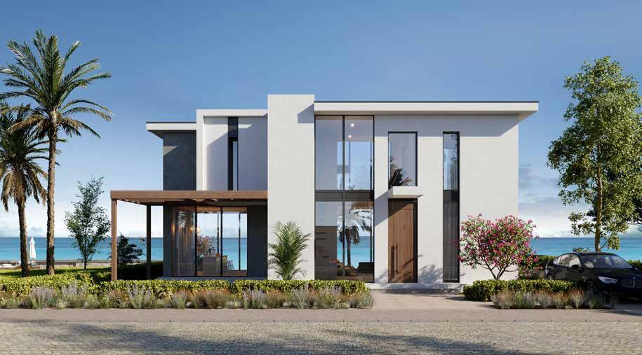 Architecture design of standalone villa in Baymount Sokhna