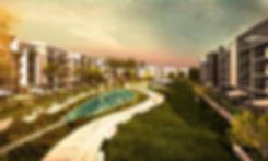 Landscape in Fifth Square New Cairo