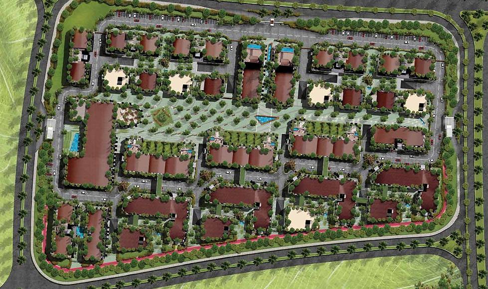Master Plan for Park Lane Compound