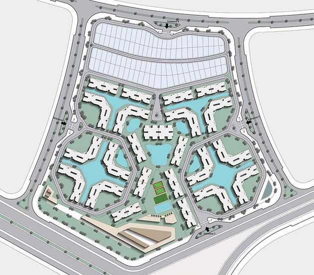 Master Plan for Jnoub New Capital
