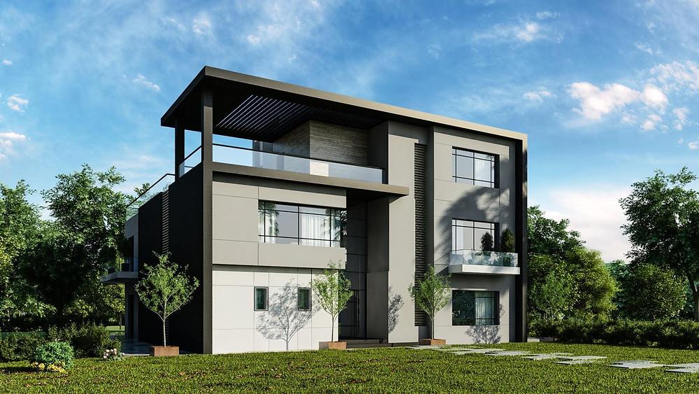 Modern villa in Zahya New Mansoura