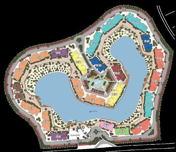 Swan Lake El Gouna Master Plan