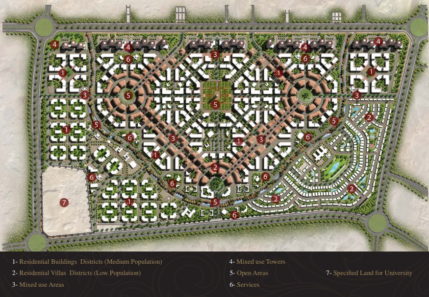 Master Plan of Baroque New Capital