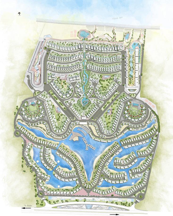 Fouka Bay Master Plan