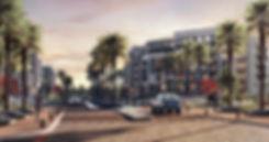 The Iris apartment residence render