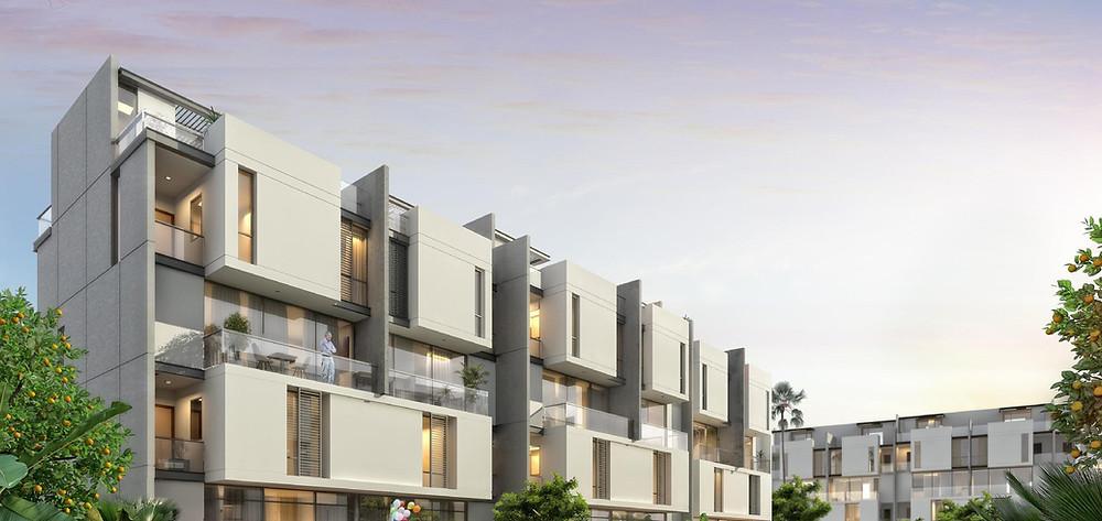 Alburouj residential homes exterior facades