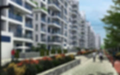 Downtown New Alamein renders