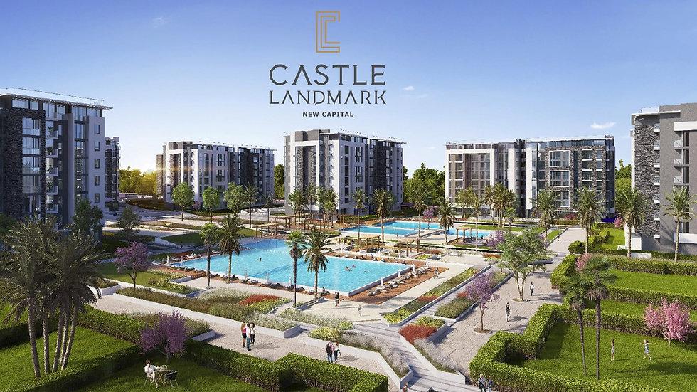 Castle Landmark Front Cover New