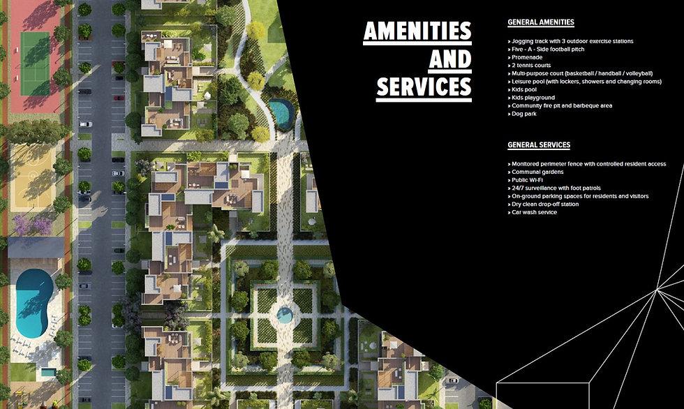 Facilities and amenities at Aeon