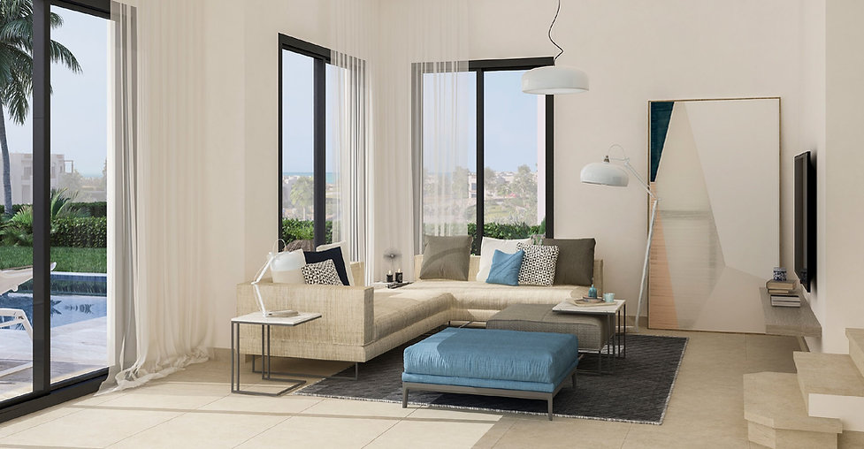 Interior design for Sole Villas