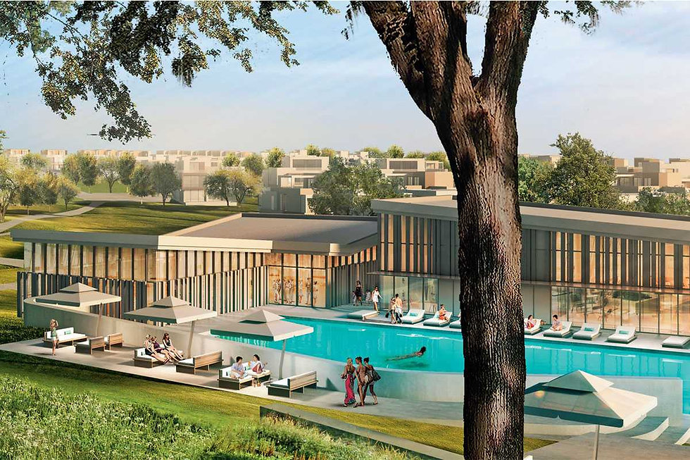 Clubhouse and recreation in Palm Hills New Cairo