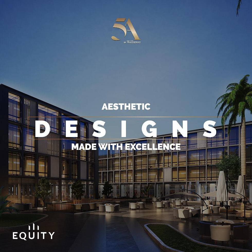 aesthetic design at 5A by The Waterway