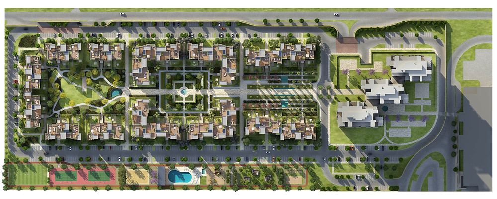 Aeon Towers Central West Egypt Master Plan