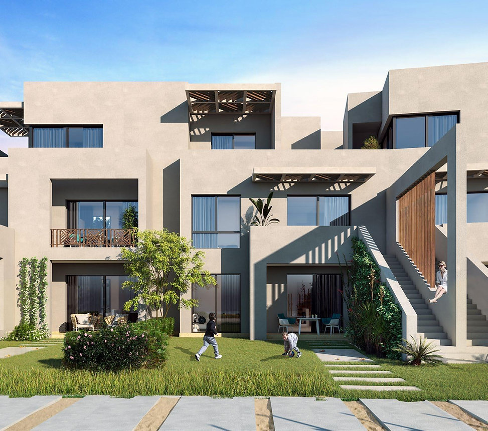 building architecture design in Bayou Makadi Heights