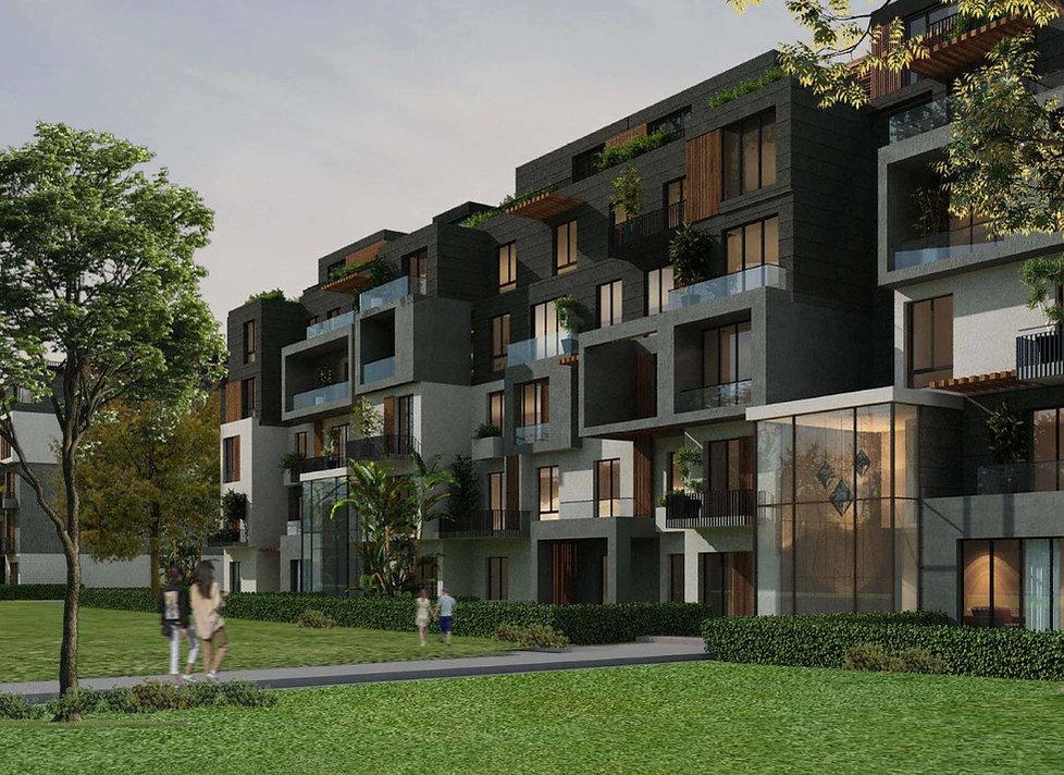 Azailya apartment building architecture