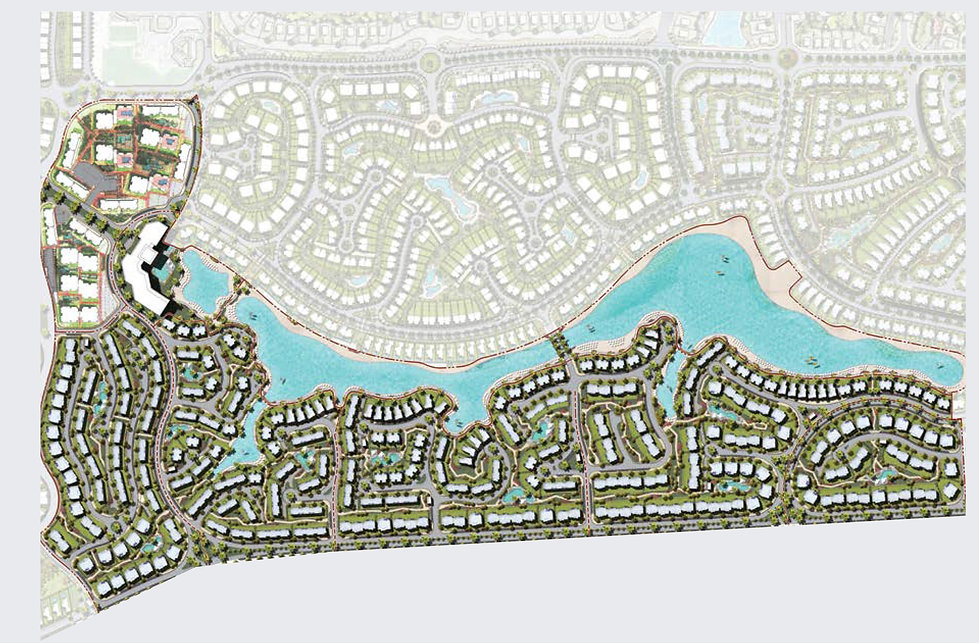 master plan for Crete Islands in Mountain View