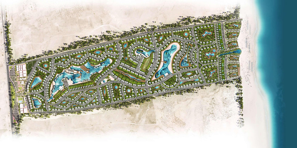 Master Plan for Gaia North Coast by Sabbour Al Ahly