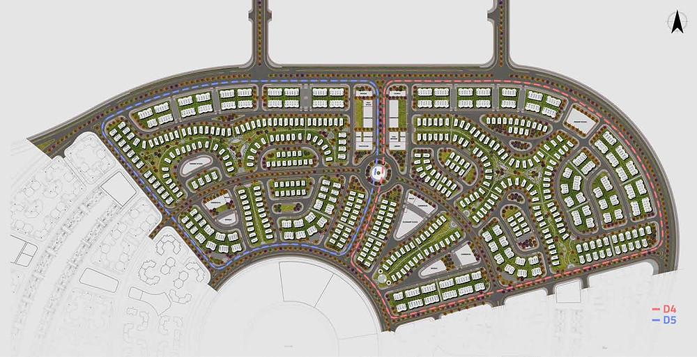 Master Plan for AlMaqsad New Capital Villas