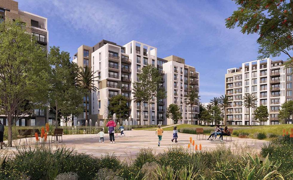 Apartment buildings in Zed East