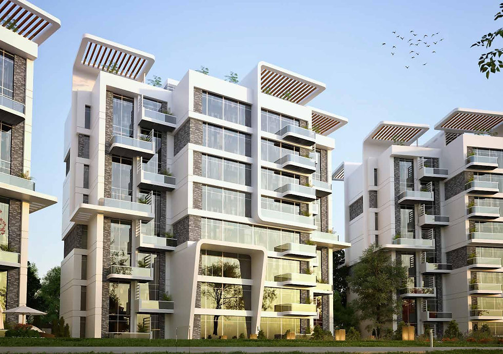 Atika New Capital Apartment buildings