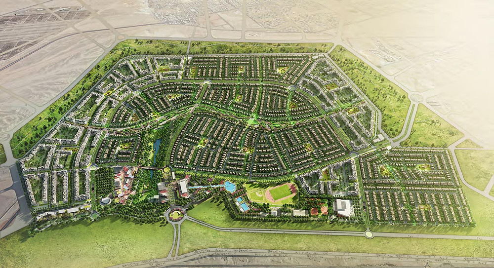 Master Plan of SODIC East, New Heliopolis, East Cairo