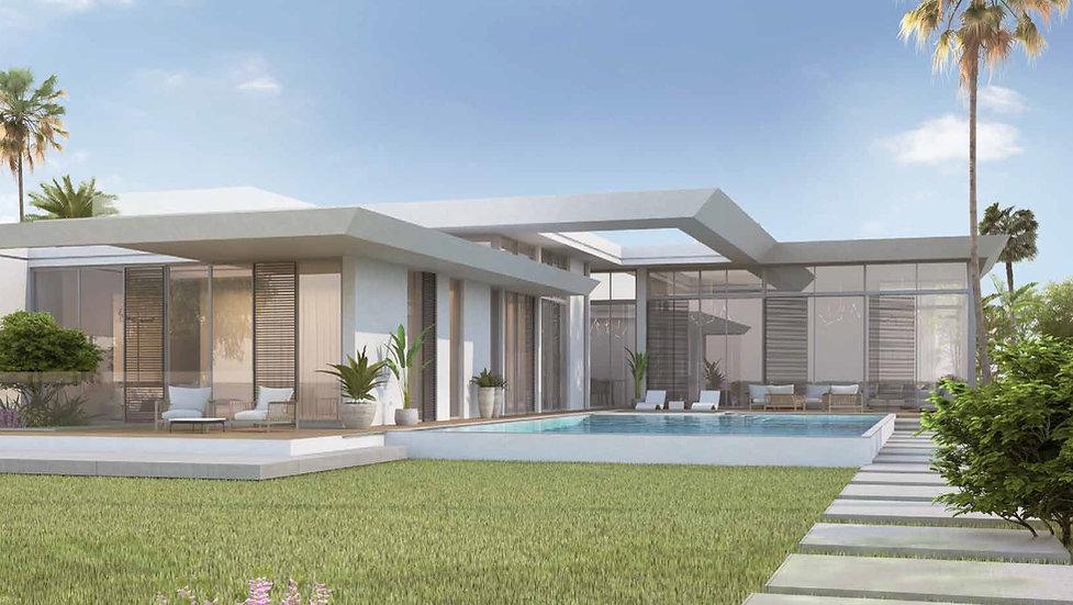Architectural design in Smeralda Bay Sid
