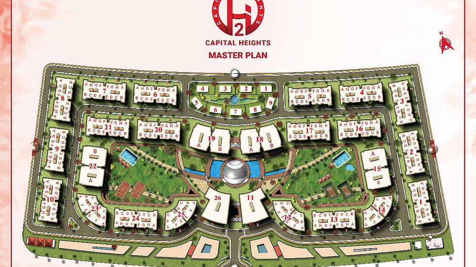 Capital Heights 2 New Capital Master Plan