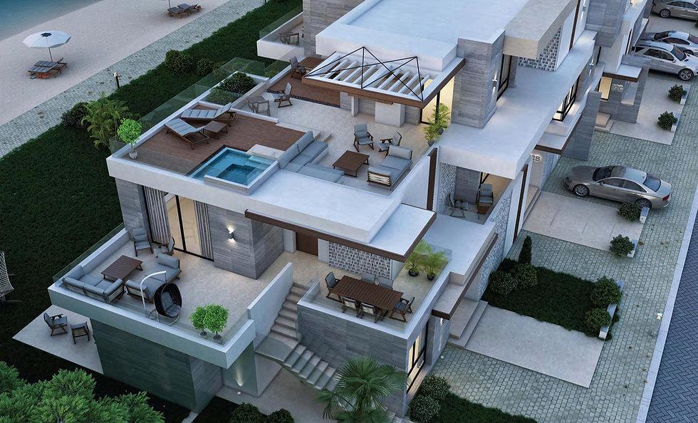 Chalet building design in Zoya North Coast