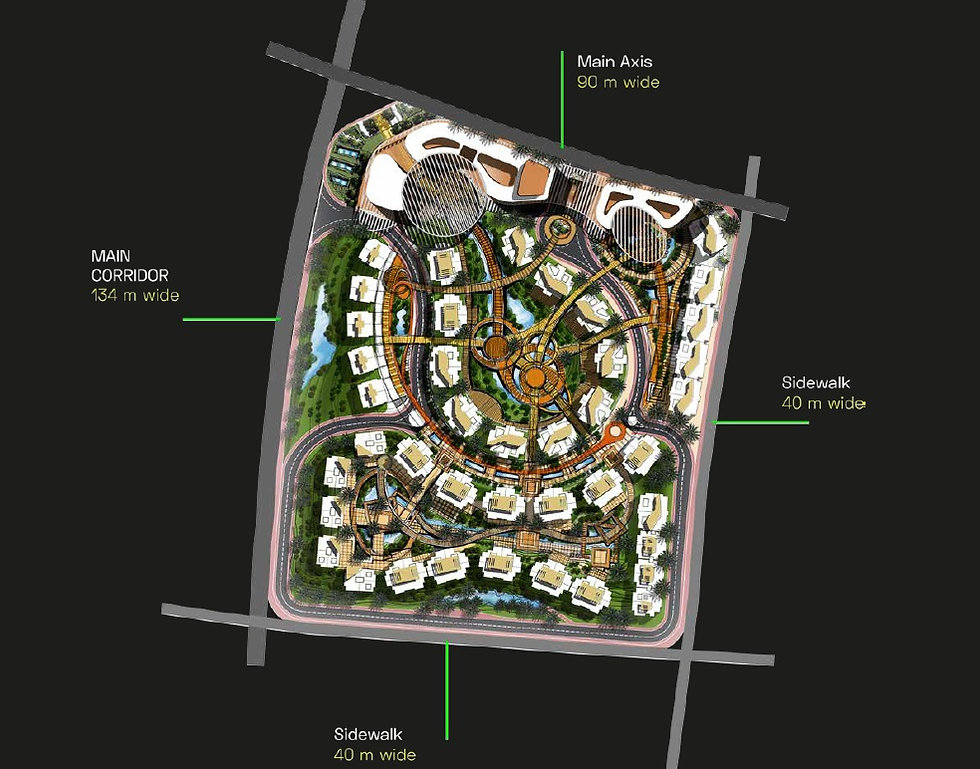 Master Plan for Atika New Capital