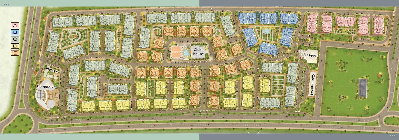 Jayd master plan by Saudi Egyptian Developers