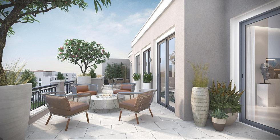 penthouse terrace in Village West