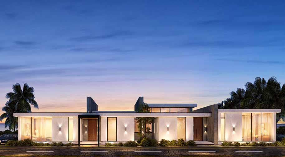Single storey twin villa Baymount