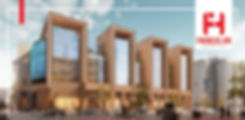 renders for Financial Hub New Capital