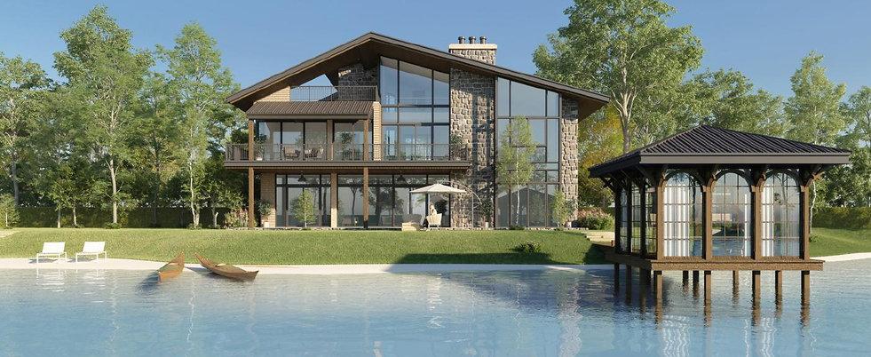 The WaterMarQ villas design